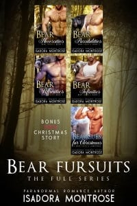 Bear Fursuits Bundle Books 1-4 by Paranormal Romance Author Isadora Montrose