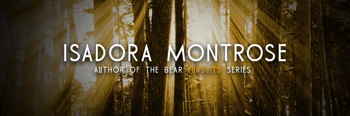 Isadora Montrose - Author of Lords of the Dragon Islands and Bear Fursuits